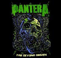 PANTERA cd cvr FAR BEYOND DRIVEN Official SHIRT SMALL new