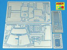 Ma 35 132 1/35 GER 3ton HALF-TRACK SD. KFZ. 11-late Fenders & Engine overlay