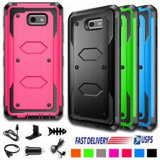 For Samsung Galaxy J3 Luna Pro/Emerge/Prime/J3 2017 Armor Hard Phone Case Cover