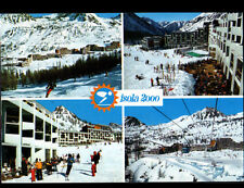 ISOLA 2000 (06) RESIDENCES & HOTELS animés en 1978