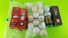 Lot 30 Assorted Vintage Golf balls Titleist, Top-Flite, PGA Tour Valhalla, Hogan