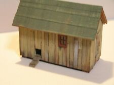 S Scale Scratch Built Hen House Sn3 Sn2 American Flyer Size 1:64 Weathered