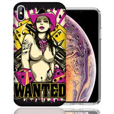 MUNDAZE Apple iPhone Xs &  X Design Case - Cowgirl Design Cover