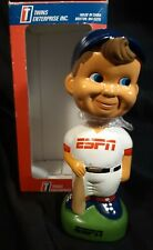 NEW IN BOX ESPN MLB MASCOT 1995 BOBBLEHEAD TWIN ENTERPRISE FREE SHIPPING