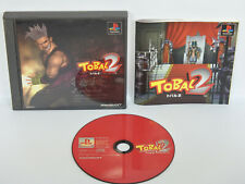 TOBAL 2 PS1 Playstation PS Import Japan Video Game p1