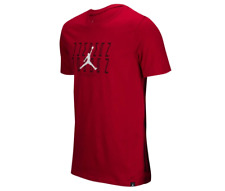 NIKE AIR JORDAN RETRO 11 JSW GRAPHIC T SHIRT SIZE 3XL RED BLACK AA3274 687