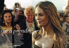 Coupure de Presse Clipping 2012 (2 pages) Vanessa Paradis