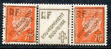 TIMBRE  FRANCE LIBERATION GOUVERNEMENT PROVISIORE MARSEILLE PAIRE AVEC PONT 46