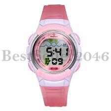 Electronic Multifunction Waterproof Digital Sport Wrist Watch For Child Girl Boy