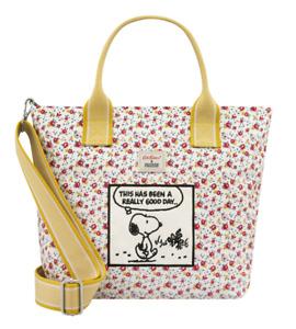 Cath Kidston Snoopy Casual Brampton Small Tote Tiny Rose Warm Cream Colour
