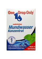 ONE DROP Only natürl. Mundwasser Konzentrat 10 ml PZN 3277794 Reisegröße