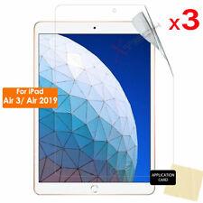 "3x CLEAR LCD Screen Protector Guard for Apple iPad Air 3, iPad Air 2019 10.5"""