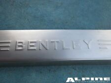 Bentley Continental Flying Spur left front door sill trim emblem plate #2