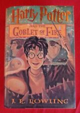 Harry Potter and the Goblet of Fire. J.K Rowling ~ 2000 A. Levine 1st Ed