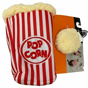 Hyde & Eek! Red & White Popcorn Box & Hat Soft Halloween Dog Costume XS S M L