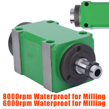 2hp Spindle Unit Cnc Drilling Milling Power Milling Head Waterproof 8000rpm