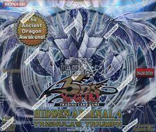 Konami Yu-Gi-Oh Hidden Arsenal 4: Trishula's Triumph Booster Box