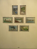 GREECE 1962 - 1980 STAMP COLLECTION 63 HINGLESS PAGES COMPLETE MNH