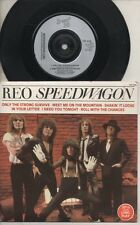 "REO SPEEDWAGON   Rare 1984 UK Only 7"" OOP 6 Track Scoop Rock P/C EP ""S/Titled"""