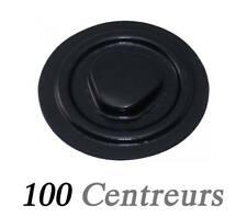 Centreur Rigide Autocollant pour CD/DVD noir