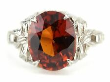 Betty Setting from The Eh Collection Hessonite Garnet Cocktail Ring in the