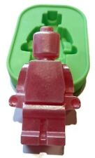 LEGO MAN LARGE Silicone Mould Mold: Soap Candle Resin Toy Cake Jelly Chocolate