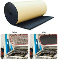 Car Van Sound Proofing Deadening Insulation Closed Cell Foam10mm 50 x 30cmx12PC