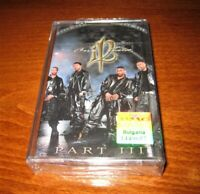 112 - One Twelve Part III MADE IN BULGARIA New CASSETTE Bulgarian Edition 2001