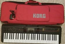 Korg kross 61 keyboard and carry bag
