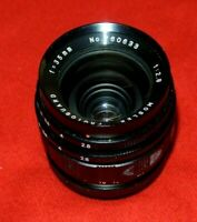 Mosler Photoguard  Wideangle 35mm F/2.8 Lens Exakta Mount Made In Japan Exc+++