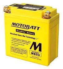 MOTOBATT MB5U Completamente Sellado Batería,mejora YB5LB YAMAHA TZR125 tzr125r
