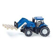 Tracteurs miniatures bleus SIKU