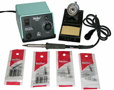 Weller WES51 Analog Soldering Station with Chisel/Screwdriver Tip Bundle