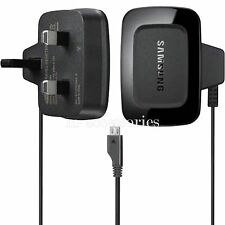 GENUINE SAMSUNG MICRO MAINS CHARGER FOR ALL MICRO USB MOBILE PHONES (ETA0U10UBE)