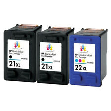 3x HP 21XL Black & 22XL Colour Ink Cartridge PP fit for Deskjet F4180 F380