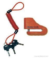 """Master Lock 2"""" Disc Brake Lock 8303DPS - Motorcycle Locks"""