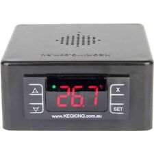 Keg King MKII Temperature Controller, Dual Input for Cooling and Heating Beer