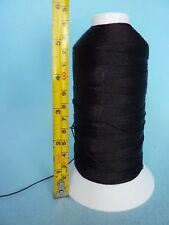 100% polyester black thread 1mm ,jewellery making
