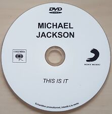 MICHAEL JACKSON : 12mns of THIS IS IT - FRENCH ONLY DVD PROMO