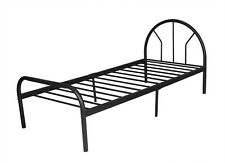 ON SALE!! Chippen Single Bed, Metal Frame&Slat, 6 Legs - Black