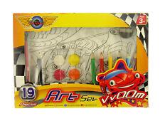 Grafix - el Toon Estudio Famoso Coches Del Mundo - 19 Piezas Juego de Arte