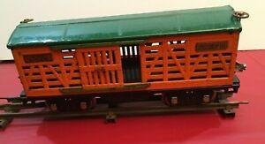 One standard gauge Lionel 513 cattle car