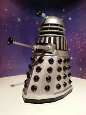 "DOCTOR WHO SFX TALKING DEATH TO THE DALEKS SILVER & BLACK CLASSIC 5"" FIGURE"