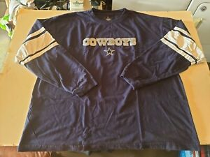 MENS DALLAS COWBOYS AUTHENTIC L/S SHIRT SIZE XXL