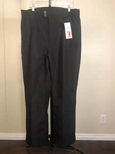 Marker NEW Black 2002 Salt Lake City Winter Olympics Uniform Ski Pants Sz XXL