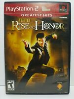 Jet Li Rise to Honor Greatest Hits (Sony PlayStation 2, 2004) PS2 Complete CIB
