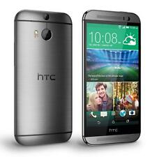 "HTC One m8 32gb Dual Kamera 5"" Display 4g Lte Entsperrt Brandneu Telefon grau"