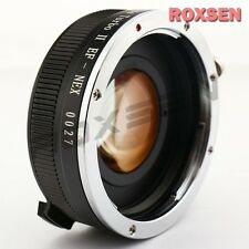 Zhongyi Lens Turbo II Focal Reducer Booster Adapter Canon EOS to Sony E NEX 7 6