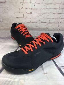 Giro Rumble VR Men's EU 47 US 13 Cycling Shoes New Black Orange