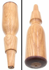 Old Hardware Stock Chisel Handle - Medium Size - Leather Cap - mjdtoolparts